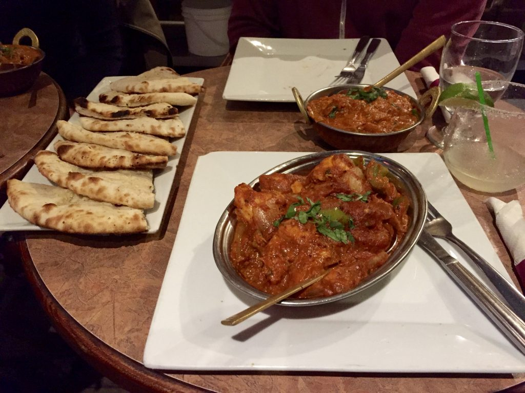 Nachtessen bei Bogustown India Grill & Lounge