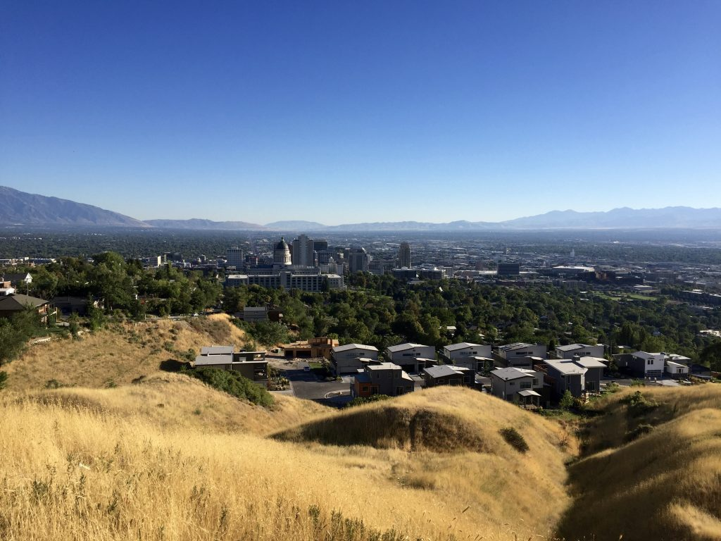Skyline von Salt Lake City