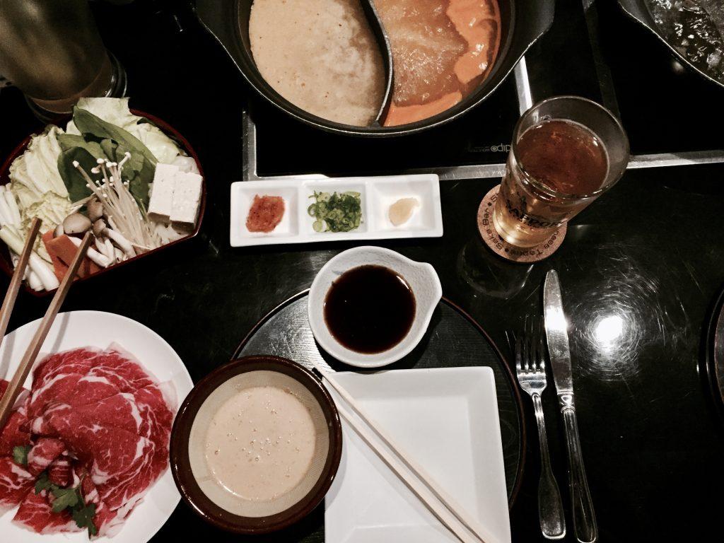 Nachtessen bei Shabu Shabu Zen