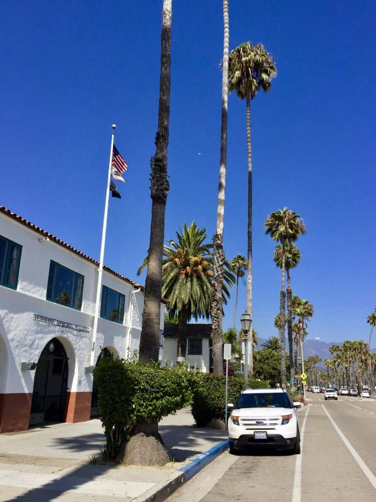 Cabrillo Blvd, Santa Barbara