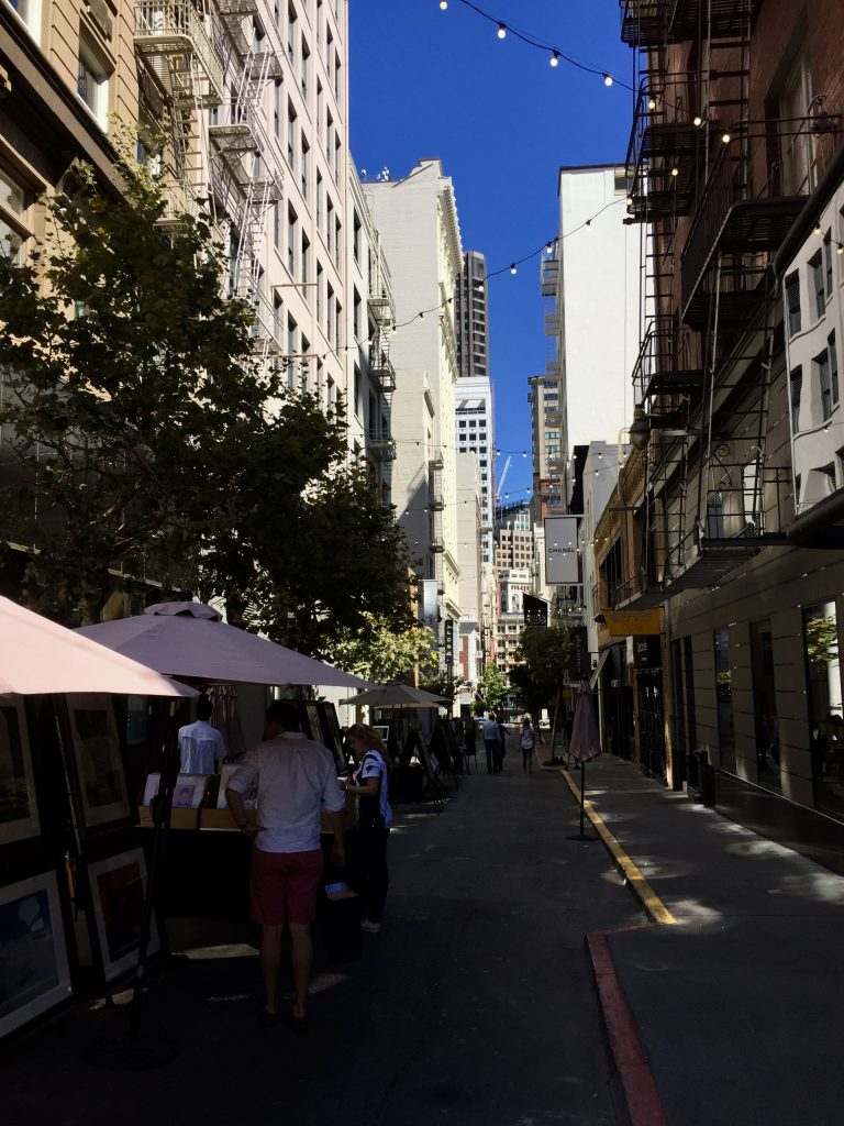 Maiden Lane, Union Square